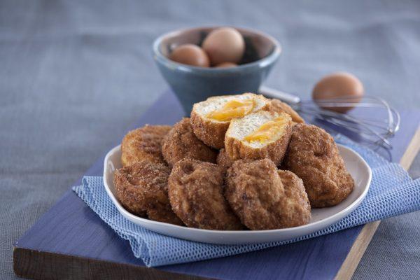 rabanadas recheadas com ovos moles