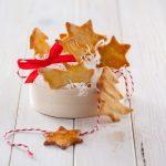 Bolachas de gengibre natalícias (robot de cozinha)