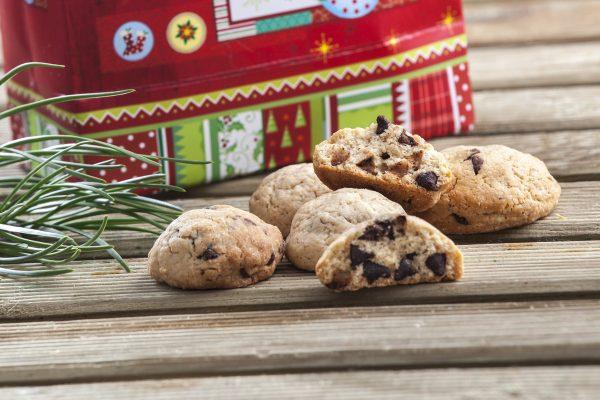 Cookies com pepitas de chocolate CHLM 3