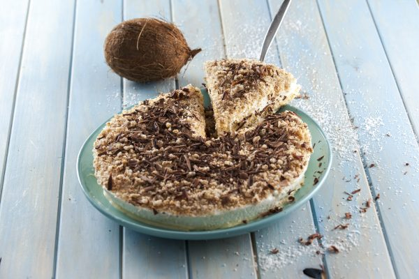 Semifrio de coco com chocolate CHAA 6