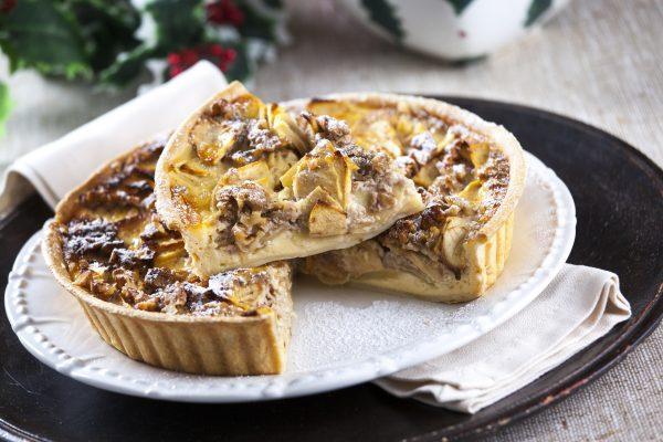 tarte de maçã com noz