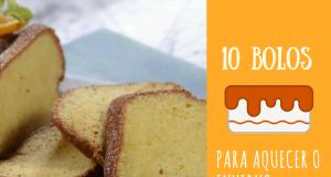 10 bolos para aquecer o inverno