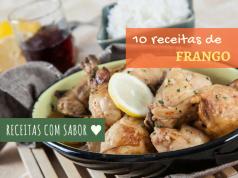 10 receitas de frango