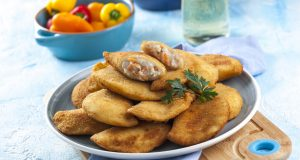 receita de rissóis de pescada