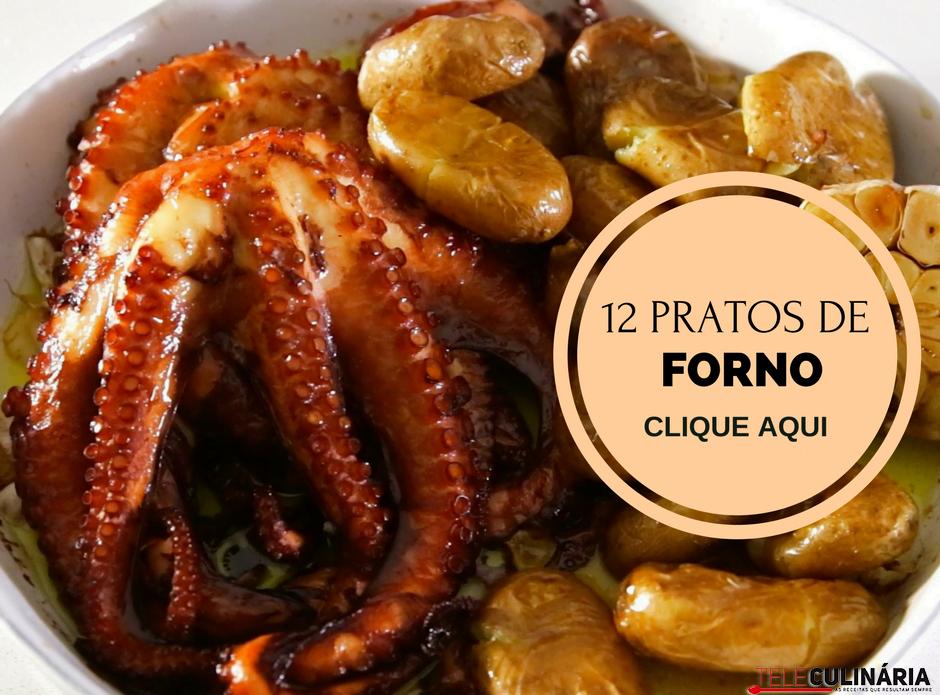 12 pratos de forno portugueses