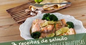 7 receitas de salmão