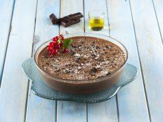 Mousse de chocolate com azeite