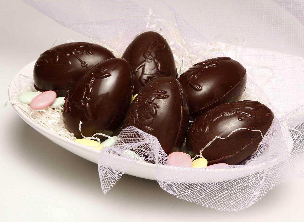 ovos de chocolate