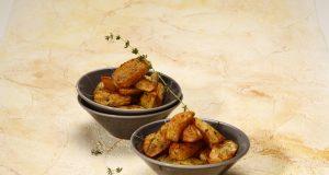 Batata-doce assada com paprica