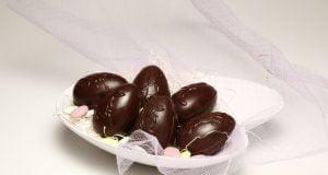 Ovos de chocolate caseiros