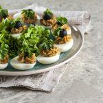 Ovos recheados à portuguesa