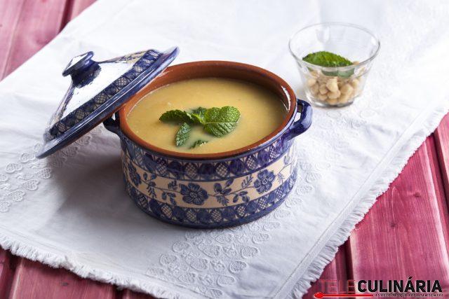 Receita de sopa de grão