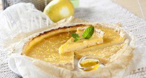 Tarte de iogurte e mel
