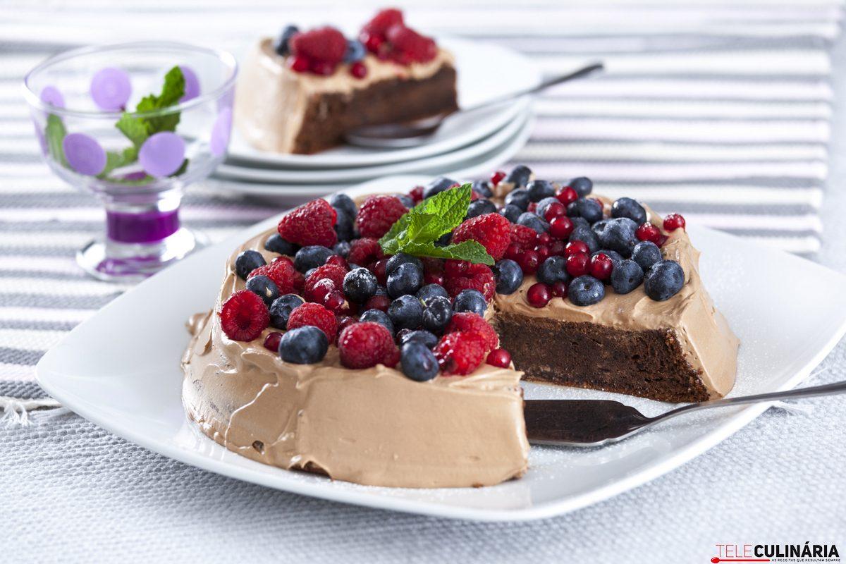 Baixinho de chocolate com frutos vermelhos CHLM 6