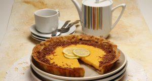 Receita de tarte achocolatada de limão