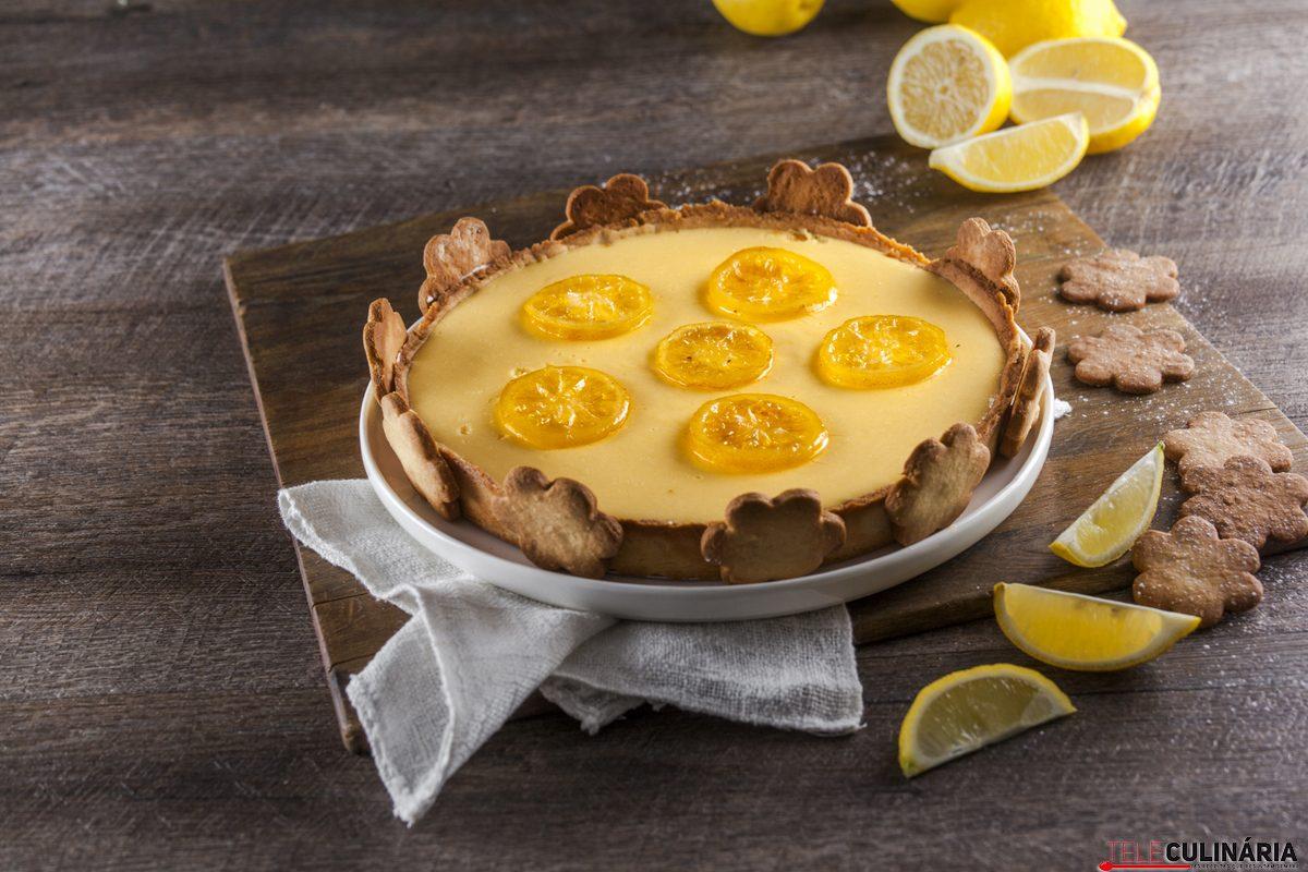 Tarte cremosa de limão