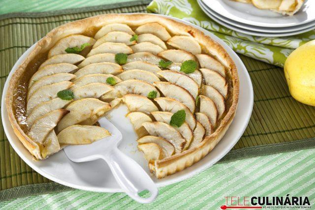 Receita de tarte de maçã