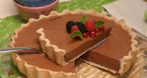 tarte de chocolate light teleculinaria