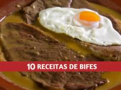 10 RECEITAS DE BIFES