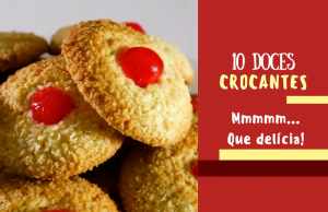 10 doces crocantes