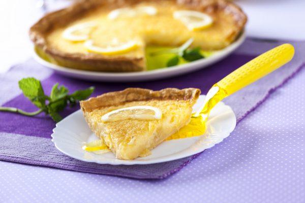 receita de tarte de limão e coco