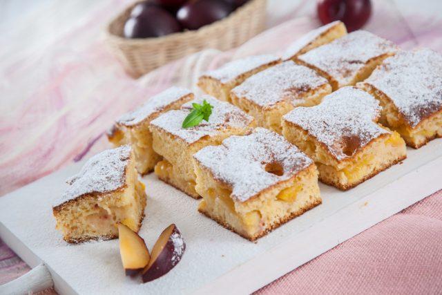 bolo de ameixas