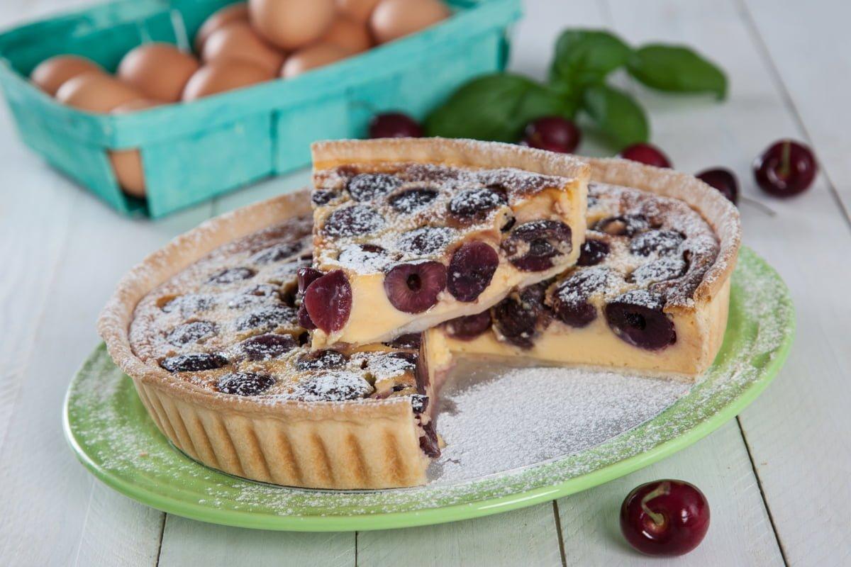 Receita de tarte de cerejas