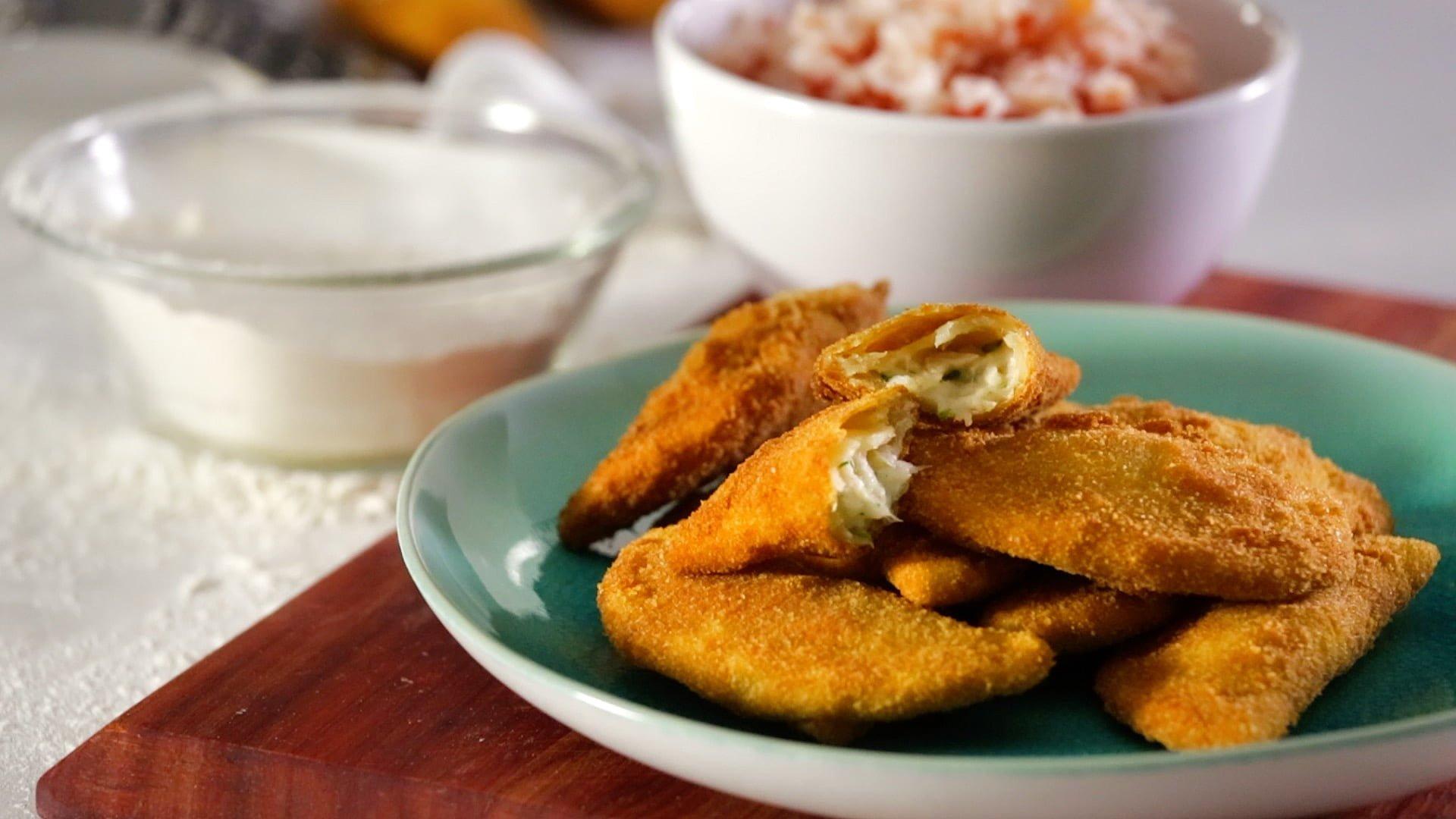 0333 Rissois de peixe com arroz tomate CHPS