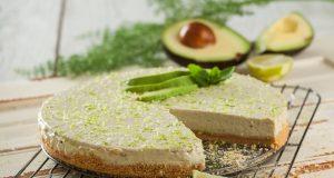 cheesecake de abacate e lima