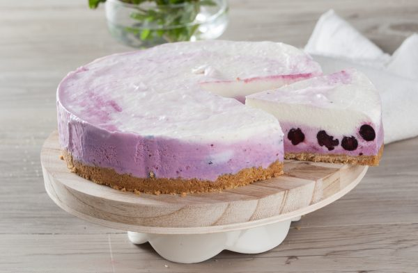 cheesecake de mirtilos