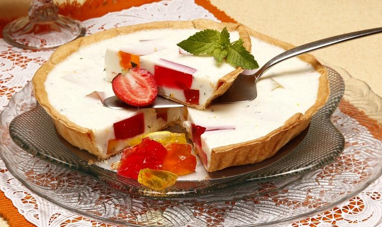 tarte de iogurte