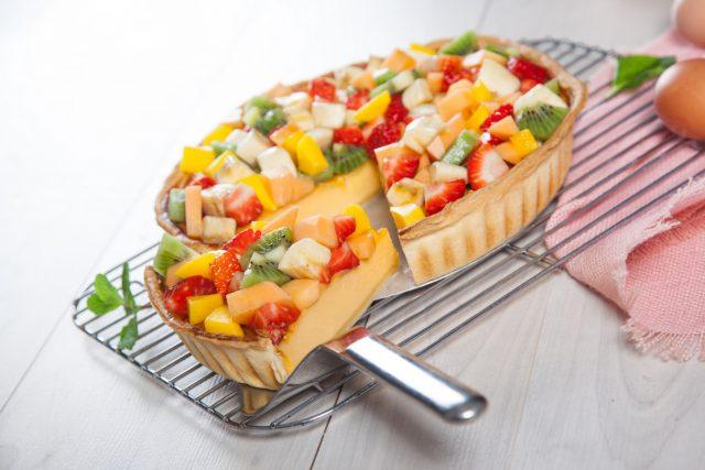 tarte de frutas fresca