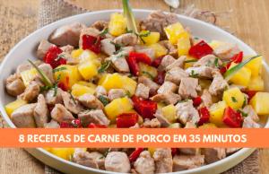 8 receitas de carne de porco