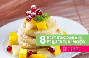 8 receitas para o pequeno almoço