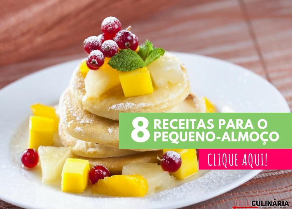 8 receitas para o pequeno almoço 1