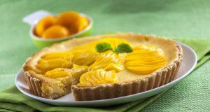 cheesecake de pêssego