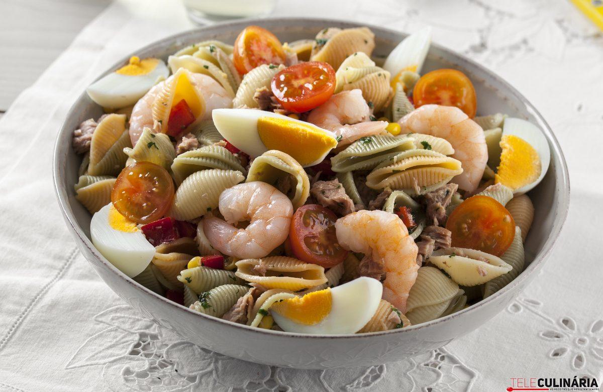 salada de pasta del mar