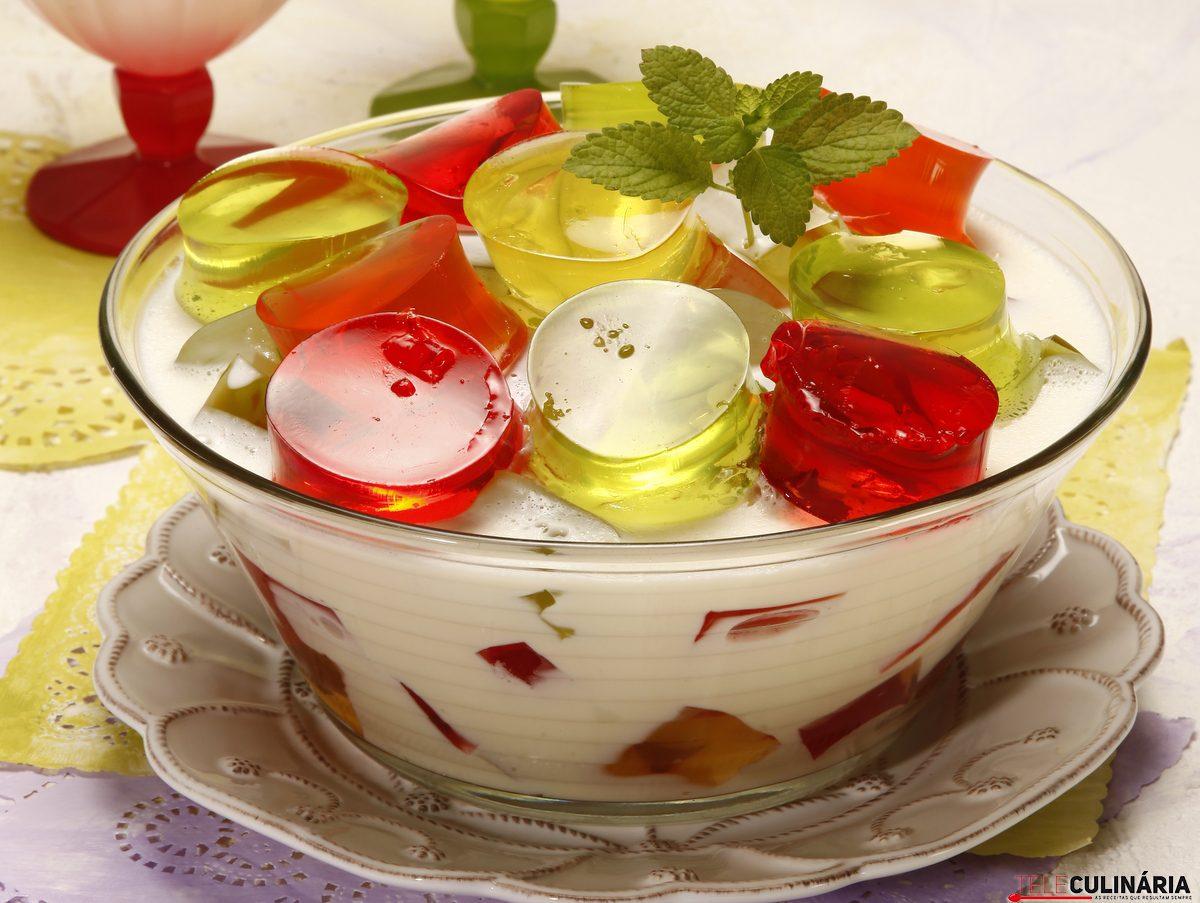 taca de gelatinas