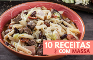 10 receitas com massa