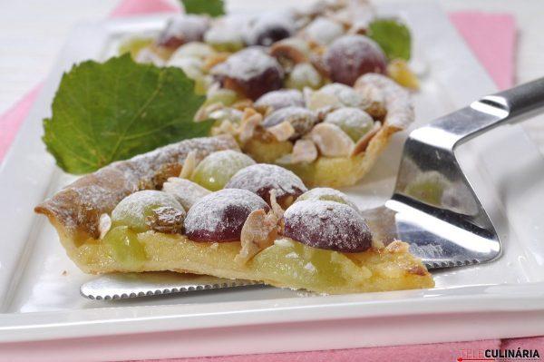 Tarte de uvas