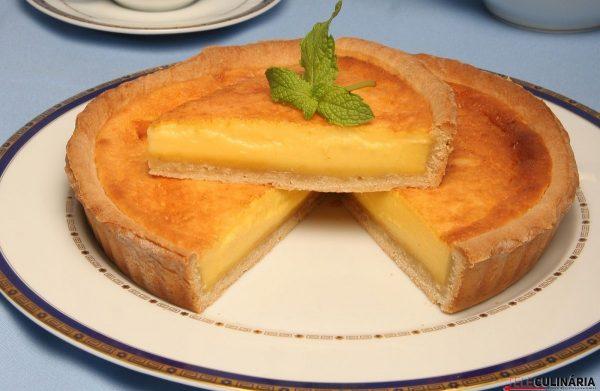 tarte de creme pasteleiro