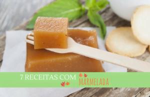 7 receitas com marmelada