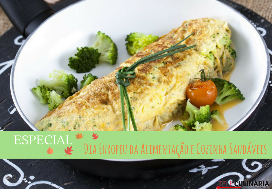 especial dia europeu da alimentação e cozinha saudável