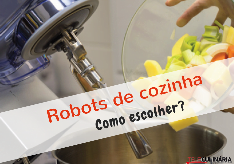 Robots cozinha deco teleculinaria