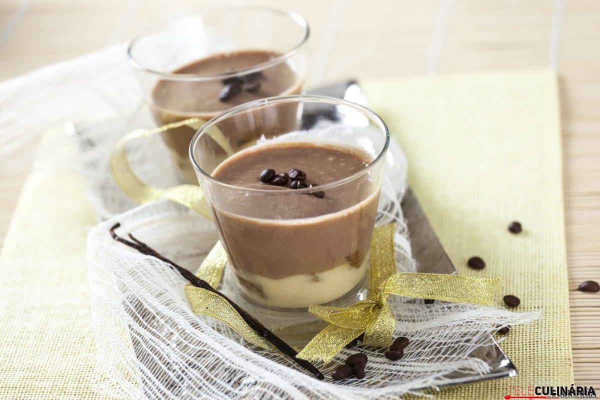 pavê de café e baunilha