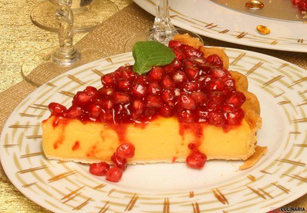 tarte de romã