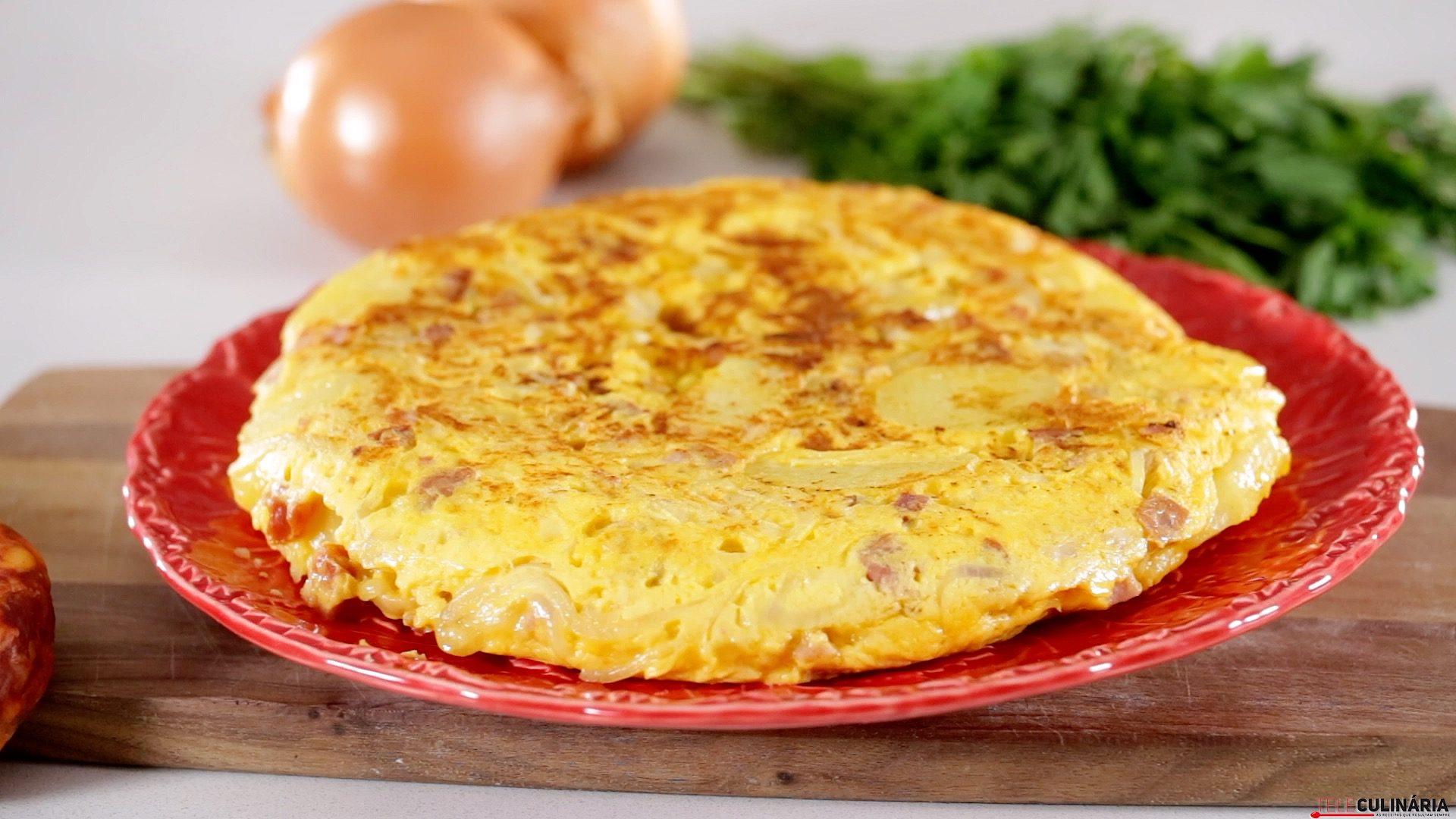 J0005 Tortilha de chouriço queijo e fiambre CHMM
