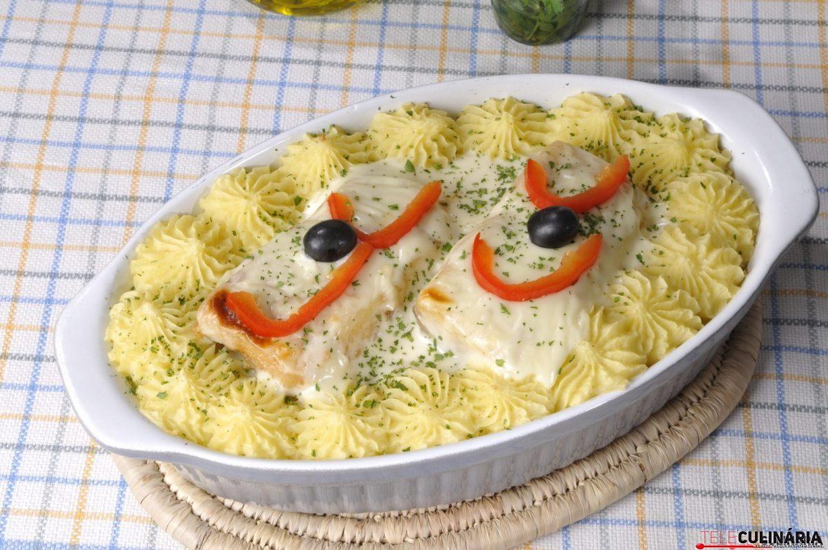 bacalhau com alho francês