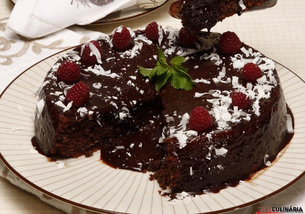 bolo de chocolate da tânia