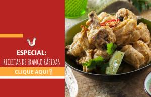 especial receitas de frango rápidas